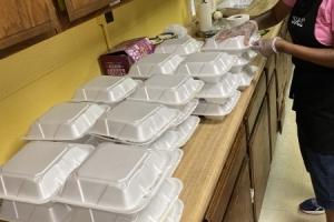 Saints Memorial Community Church Free Meals Pickup